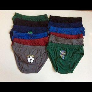 Other - 💯% Cotton comfy boy's underwear fun designs 🤖⚽️